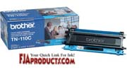Brother TN110C Toner for HL4040CN, HL4070CDW, MFC9440CN printer supplies by Brother
