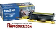 Brother TN110Y Toner for HL4040CN, HL4070CDW, MFC9440CN printer supplies by Brother