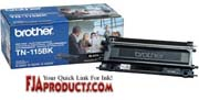 Brother TN115BK Toner for HL4040CN, HL4070CDW, MFC9440CN printer supplies by Brother