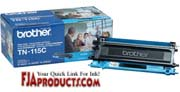 Brother TN115C Toner for HL4040CN, HL4070CDW, MFC9440CN printer supplies by Brother