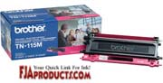 Brother TN115M Toner for HL4040CN, HL4070CDW, MFC9440CN printer supplies by Brother