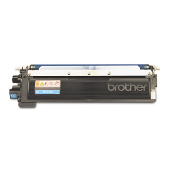 Genuine Brother TN210 Cyan Toner Cartridge (TN210C) printer supplies by Brother