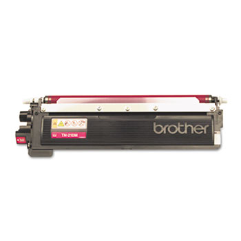 Genuine Brother TN210 Magenta Toner Cartridge (TN210M) printer supplies by Brother