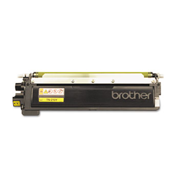 Genuine Brother TN210 Yellow Toner Cartridge (TN210Y) printer supplies by Brother