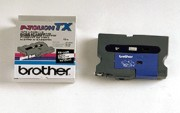 Brother TX-2211 3/8 In. Black On White Supply Tape printer supplies by Brother
