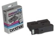 Brother TX2511 1 In. Black On White Supply Tape printer supplies by Brother