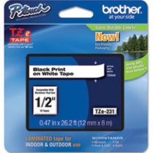 Brother TZE-231 - Brother TZE231 P-touch Tape printer supplies by Brother