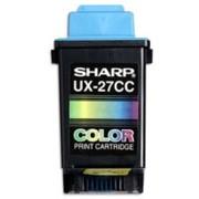 Sharp UX-27CC Color Inkjet Cartridge printer supplies by Sharp