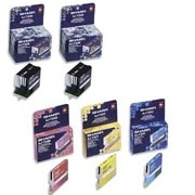 Sharp AJ-T20B/C/M/Y Inkjet Cartridge Value Pack printer supplies by Sharp